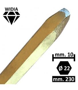 PUNTA WIDIA AD UNGHIA 10 MM.