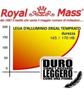 BADILE ROYAL MASS ORO A PUNTA CON MANICO LEGNO