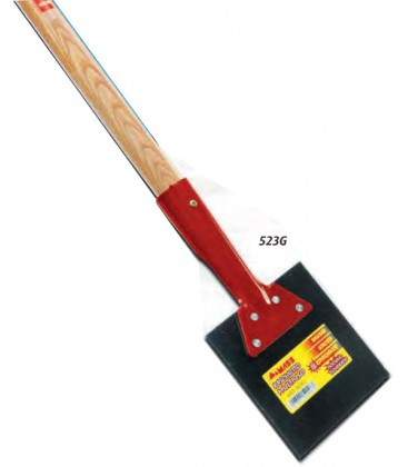 Raschietto multiuso MASS acciaio temprato manico legno 15X15 cm