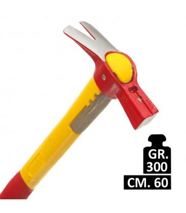 MARTELLO L'INGEGNERE MASS 300 GR. C/M LEGNO 50 CM.