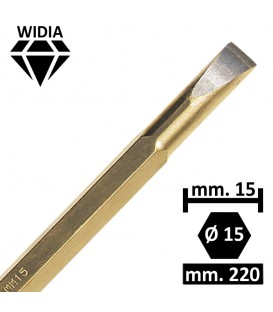 SCALPELLO WIDIA 15 MM.