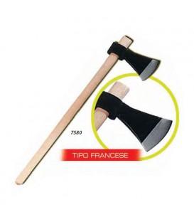 SCURE FRANCESE 1400 GR CON MANICO IN LEGNO