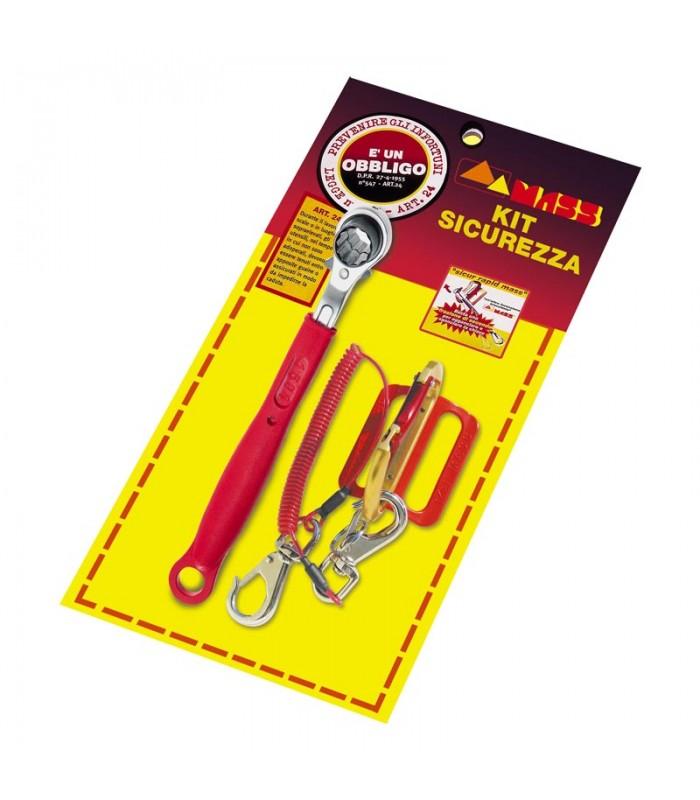 Chiave per ponteggio a cricchetto chiave ponteggi in acciaio misura 21-22