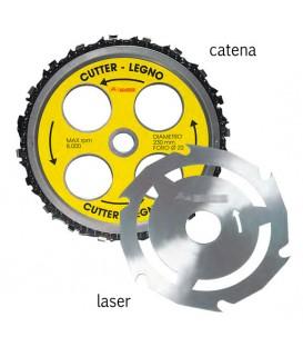 Disco taglio legno laser Mass