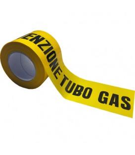 NASTRO SEGNALAZIONE TUBO GAS