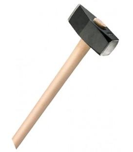 Mazza gemma standard mass in acciaio temprato con manico in legno